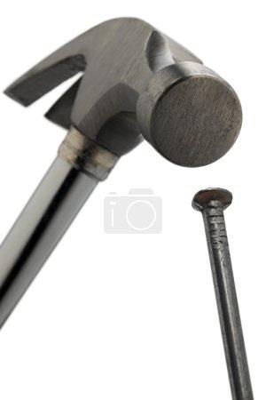 Hammer and a nail