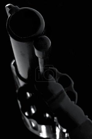 Photo pour Revolver noir - image libre de droit