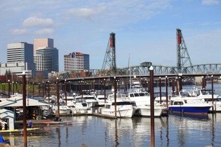A marina, Portland OR.