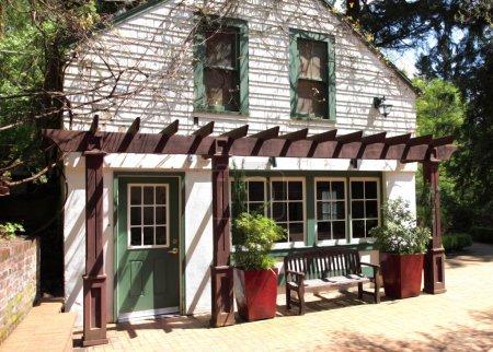 Garden house, Portland OR.