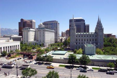 Salt Lake city, Utah (downtown)