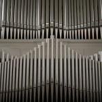 Organ pipes in Danish church....