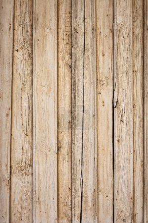 Foto de Fondo antiguo de madera con tablas verticales - Imagen libre de derechos