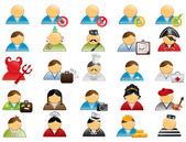 Human icons set 1