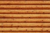 Dřevěné špalky stěna pozadí venkovský dům
