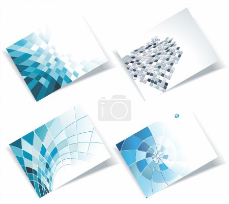Photo for Vector business card set, for more business card of this type please visit my gallery - Royalty Free Image