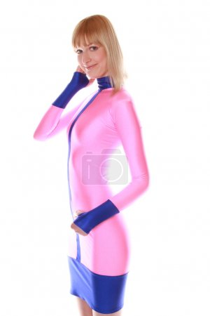 Candy-floss Spandex Dress...