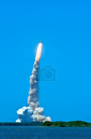 Photo for STS-121 July fourth launch from Kennedy Space Center, Cape Canaveral Florida - Royalty Free Image
