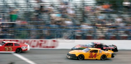 Photo for Fascar stock car racing - Royalty Free Image