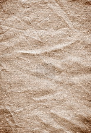 Photo for Background of old wrinkled fabric surface - Royalty Free Image