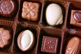 Closeup čokolády