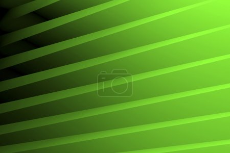 Photo for Striped 3D background with green and black nouances - Royalty Free Image