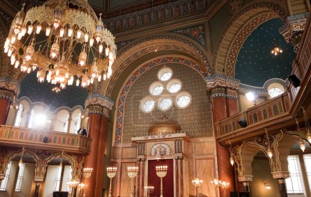 Interior of Sofia synagogue
