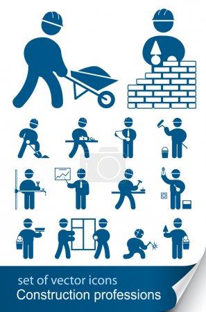 Foto de Profesiones de la construcción - Imagen libre de derechos