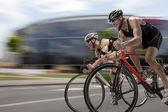 """Постер, картина, фотообои """"Закончить горный велосипед гонка"""""""