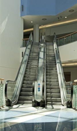Shop escalator