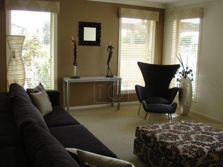 Photo pour Salon luxueux dans une maison moderne - image libre de droit