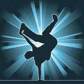 Tance silueta, breakdance