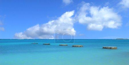 Coastal area of Aruba