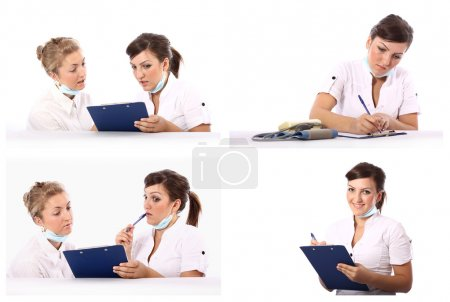 Two doctors conversation