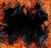 """Постер, картина, фотообои """"структура огня"""""""