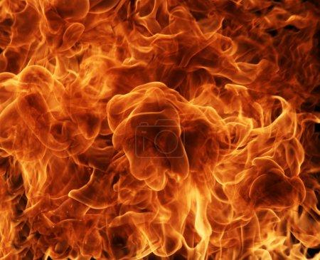 Foto de Fondo de fuego - Imagen libre de derechos