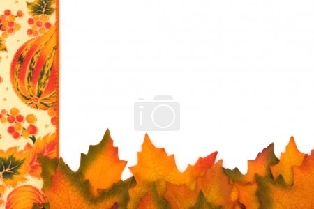 bordure feuilles automne