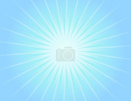Foto de Fondo azul brillante con haces de luz azules - Imagen libre de derechos