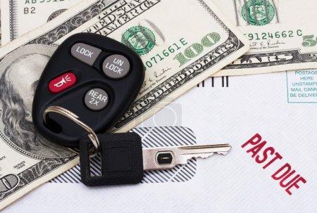 Past due car payment