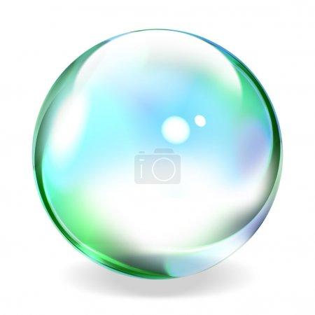 Foto de Esfera transparente - Imagen libre de derechos