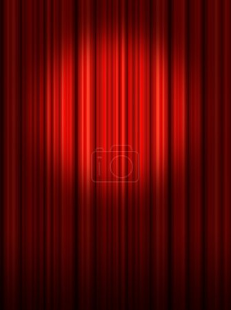 Photo pour Projecteur de scène - image libre de droit