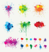 Vector colored splatter collection (please visit my portfolio for more)