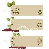 Eco značky s copyspace