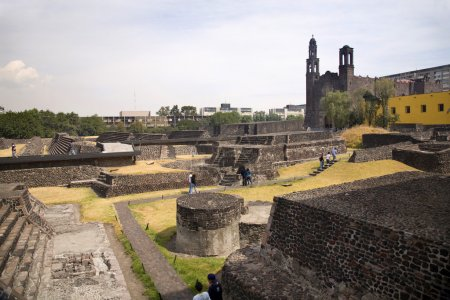 Aztec Archaelogical Site Mexico City