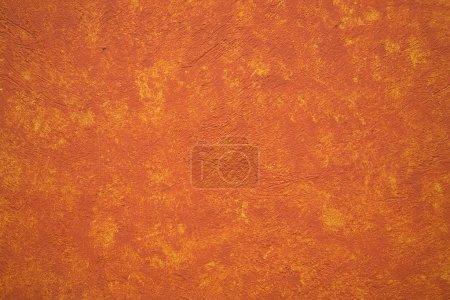 Bright Vibrant Orange yellow adobe wall Patzcuaro ...