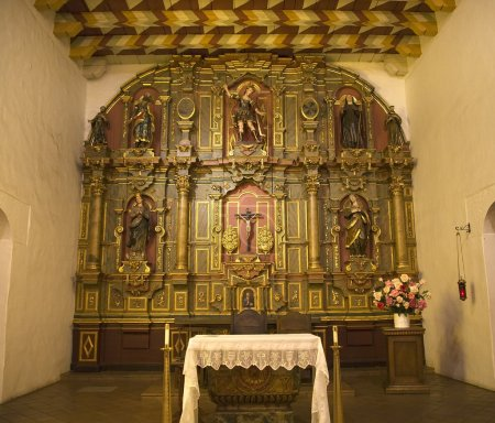 Chapel Altar Table Mission Dolores
