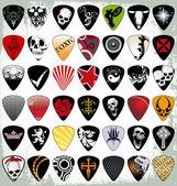 Guitar pick set