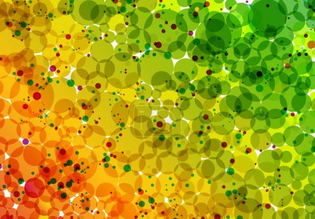 Glowing Bubbles Background