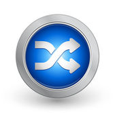 Nice 3d glossy vector illustration button on metal with white background easily editable