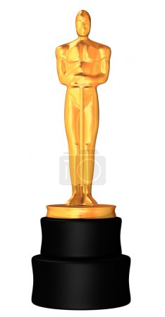Award in white