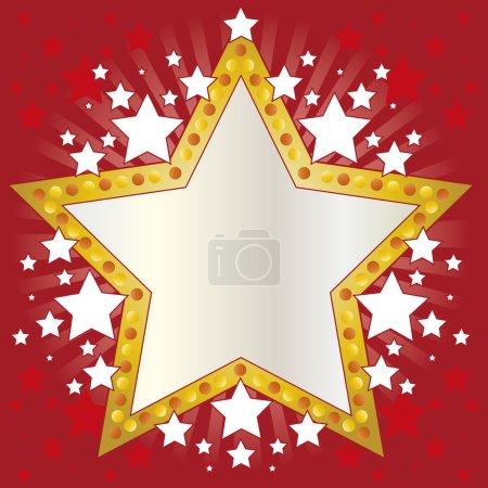 Frame stars.