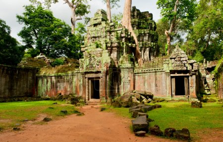 Photo for Ruins of the temples, Angkor Wat, Cambodia - Royalty Free Image
