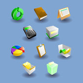Business iconset collection