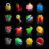 16 e-commerce icons