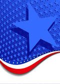 A large patriotic background with stars and stripes in the vector file there are more stars outside the vector mask for you to mask as you like
