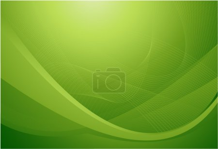 Illustration for Green abstract background - Royalty Free Image