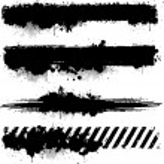 Various grunge frame vector design element...