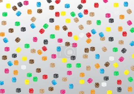 Cubes playing background