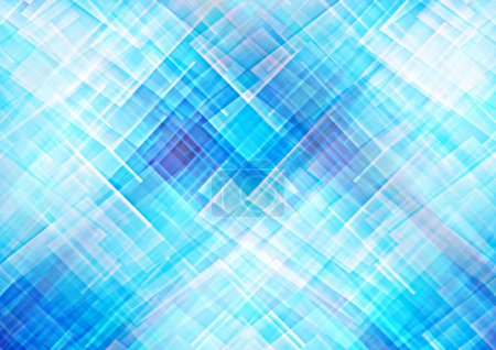 Abstract blue geometric patterns background