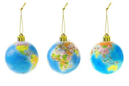 round ball object isolated celebration christmas